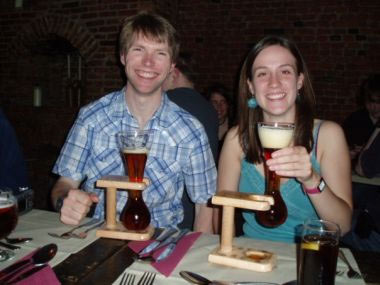 Holding your Kwak by the glass only